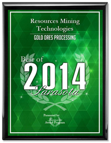 Resources-Mining-Technologies-2014-Best-of-Sarasota-Award